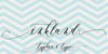 Inkland Font design handwriting