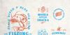 Braton Composer Stamp Rough Font drawing handwriting