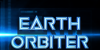 Earth Orbiter Font screenshot electric blue