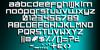 Orena Font design screenshot