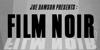 Film Noir Font poster