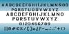 Argentina Font screenshot font