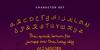 Ramadhan Karim Font text handwriting