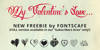 MyValentinesLove-demo Font text handwriting