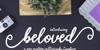 beloved Font handwriting design