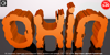 Oxin Brush Font cartoon balloon
