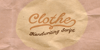 Clothe PERSONAL USE ONLY Font handwriting text