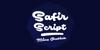 Safir Script PERSONAL USE ONLY Font design cartoon
