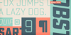Sucrose Bold Two DEMO Font typography font