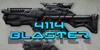 4114 Blaster Font screenshot weapon