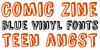 Comic Zine Font poster text