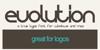 Evolution Font screenshot design