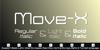 Move-X Font screenshot design