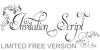 Invitation Script LIMITED FREE  Font design drawing
