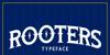 Rooters Font screenshot design