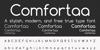 Comfortaa Font text screenshot