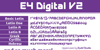 Digital Font text font