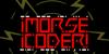 MORSE CODER Font poster