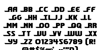 Shining Herald Regular Font Letters Charmap