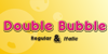 Double•Bubble Shadow Font design cartoon