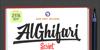 MJ AlGhifari Font screenshot poster