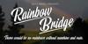 Rainbow Bridge Personal Use Font screenshot text
