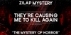 Zilap Mistery Personal Use Font text poster