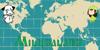 Miludaland Font text map