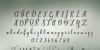 Westyler Font handwriting text