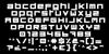 Basica v.2012 Font pattern design