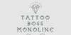 Tattoo Boss Monoline Demo Font text