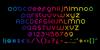 Plig nova Font screenshot font