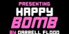 Happy Bomb Font text