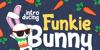 Funky Bunny Font cartoon design