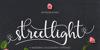 streetlight demo version italic Font text flower