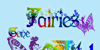 Fairies Gone Wild Font cartoon drawing