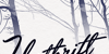 Unthrift Personal Font snow handwriting