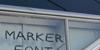 Marker Font handwriting