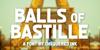 Balls of Bastille Font screenshot design