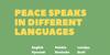 Peace Sans Font screenshot poster