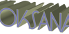 LT Oksana Font screenshot design