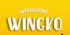 Wingko Font yellow text