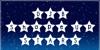 DJB Shape Up Stars Font design graphic