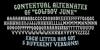 Cowboy Junk DEMO Font text screenshot