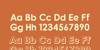 Fonarto Font design text