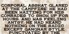 General Failure Font text receipt