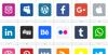 Social Media 2019 Font screenshot design
