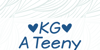 KG A Teeny Tiny Font design graphic