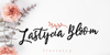 Estylle Madison Font handwriting design