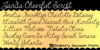 Janda Cheerful Script Font handwriting text